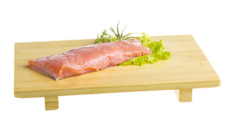 fresh trout fillet Stock Photo - 17596368