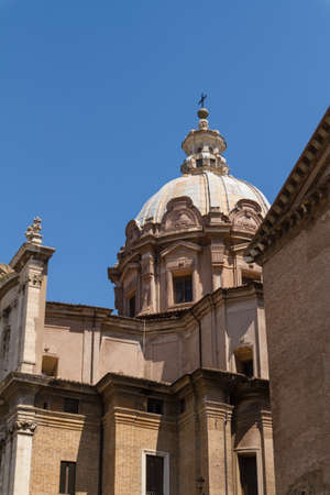 Great church in center of Rome, Italy. Stock Photo - 17774463