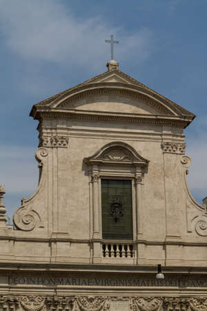 Great church in center of Rome, Italy. Stock Photo - 17884368