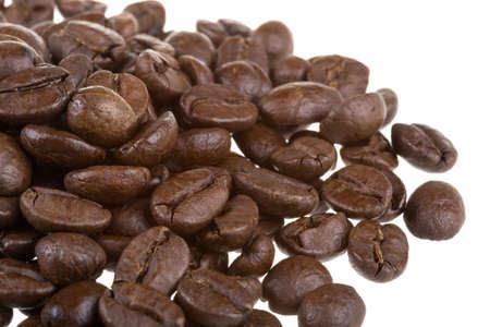 stimulant: Coffee beans background Stock Photo