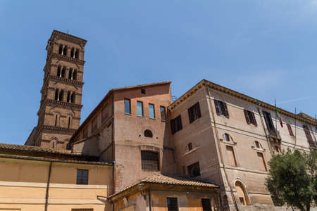 Great church in center of Rome, Italy. Stock Photo - 18319295