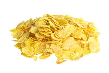 corn flakes: Corn Flakes Macro Banque d'images