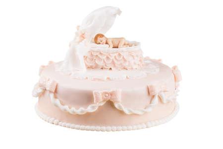 piggish: handmande birthday cake shot in a closeup scene