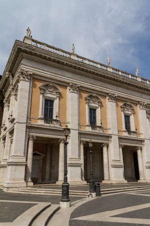 Campidoglio square (Piazza del Campidoglio) in Rome, Italy Stock Photo - 18361398