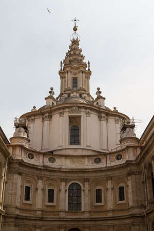 Great church in center of Rome, Italy. Stock Photo - 18361166