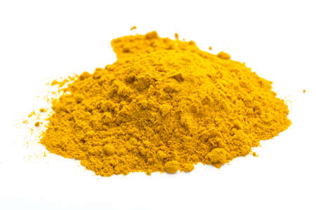 tumeric macro studio shoot isolated photo