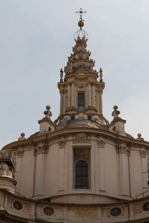 Great church in center of Rome, Italy. Stock Photo - 18669975