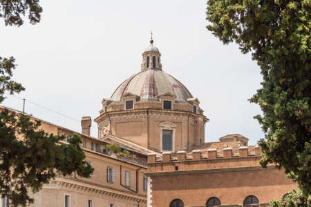 Great church in center of Rome, Italy. Stock Photo - 18823775
