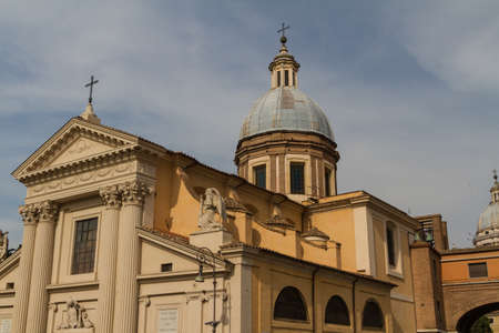 Great church in center of Rome, Italy. Stock Photo - 18822699