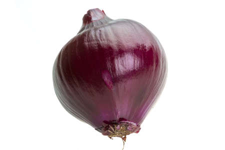 Ripe violet onion Stock Photo - 18823513