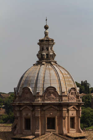 Great church in center of Rome, Italy. Stock Photo - 18924685