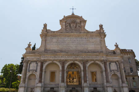 Great church in center of Rome, Italy. Stock Photo - 18923979