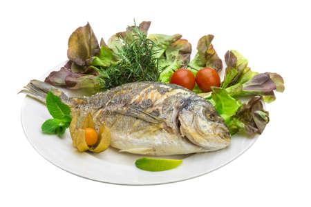 grilled fish: Dorado grilled