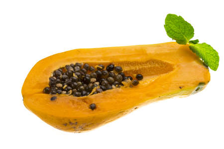 Ripe papaya photo