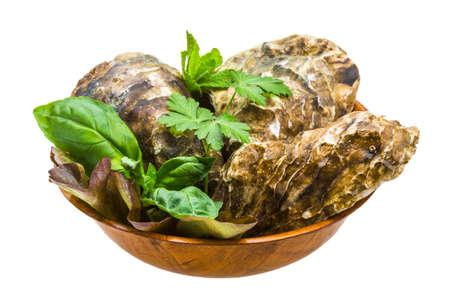 Fresh oyster Stock Photo - 19554692