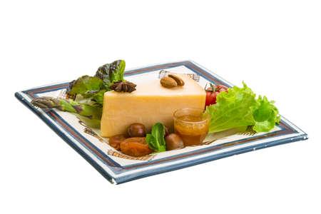 Old hard cheese Stock Photo - 19554426
