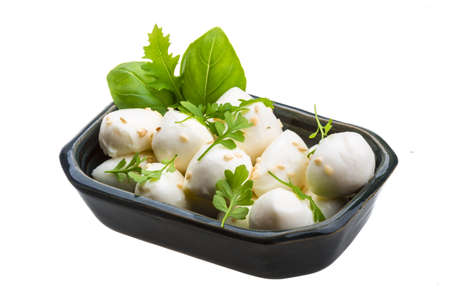 Mozzarella con le erbe photo