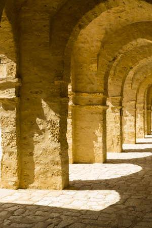 Main Old Moscue in Mahdia Tunisia photo