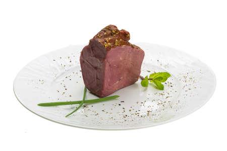 Smoked beef photo