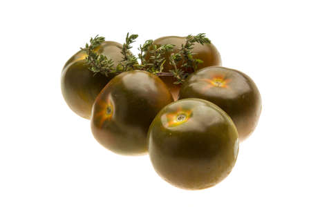 Black tomato Stock Photo - 19565545