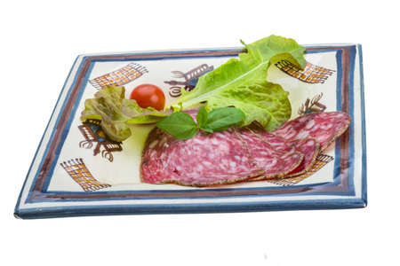 Salchichin salami Stock Photo - 19565653