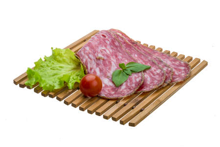 Salchichin salami Stock Photo - 19565595