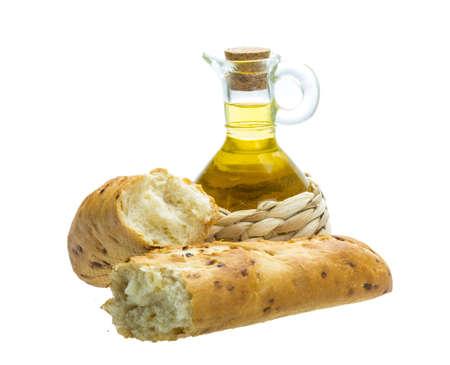 Bread with crisp photo