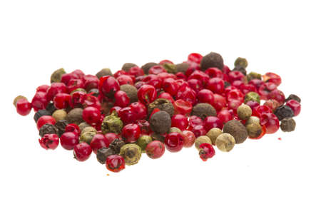 Collection of Pepper seeds photo