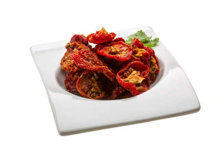 Dried tomatoes photo