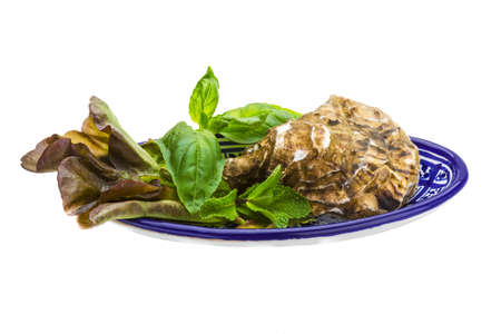 Fresh oyster Stock Photo - 19625038