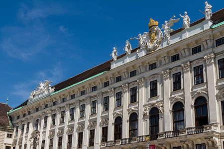 hofburg: Hofburg palace and monument. Vienna.Austria.
