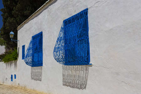 bu: Old arabic town in Tunisia - Sidi Bu Said