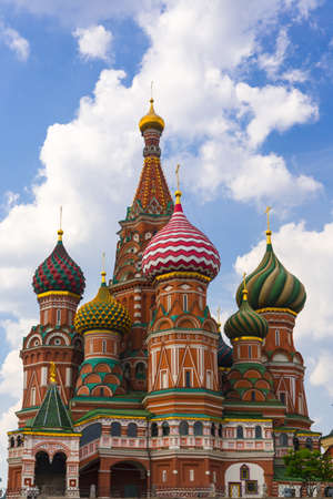 Saint Basil Temple in Moscow Red Square Stock Photo - 20251662