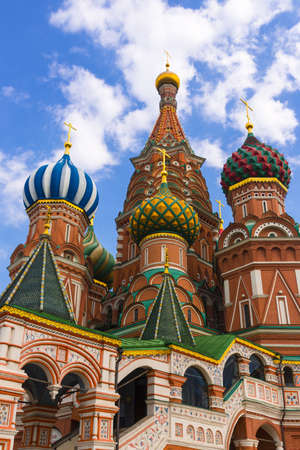 Saint Basil Temple in Moscow Red Square Stock Photo - 20251667