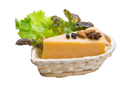 matured: Old hard cheese