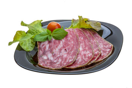 Salchichin salami photo
