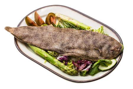 dover: Fish Dover sole Stock Photo