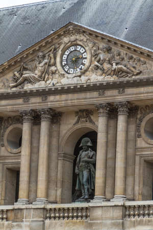 frontage: Historic building in Paris France