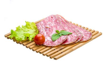 Salchichin salami photo