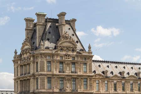 unoccupied: Historic building in Paris France