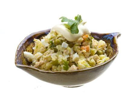 ruccola: Chicken salad with ruccola