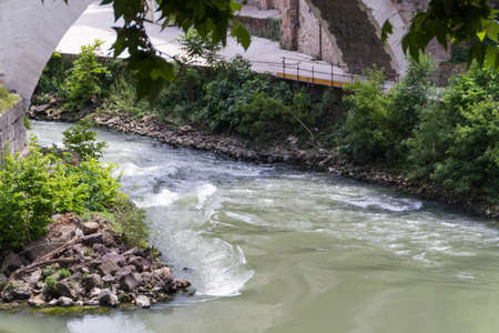 River in Rome photo