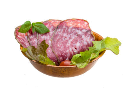 Salchichin salami Stock Photo - 20931830