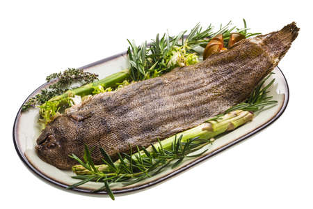 dover: Fish Dover sole roasted