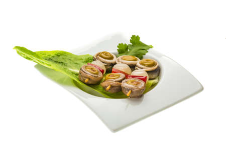 engraulis: Anchovy rolls with onion, pepper and olives
