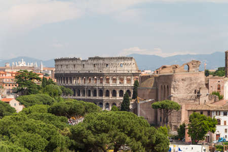 Colosseum of Rome, Italy photo