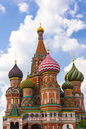 Saint Basil Temple in Moscow Red Square Stock Photo - 21439411