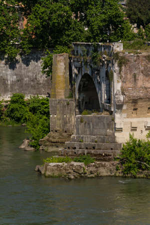 Rome bridges photo