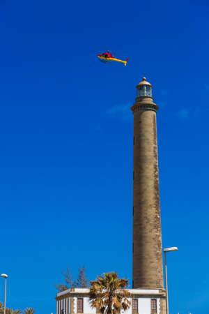 Faro in Maspalomas Canary islands photo