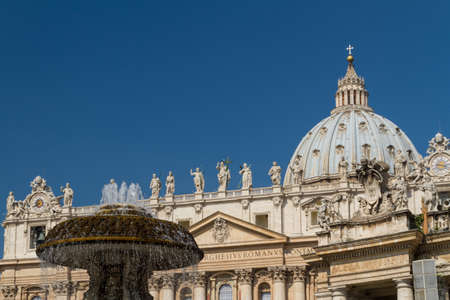 Saint Peters Square, Rome, Italy photo